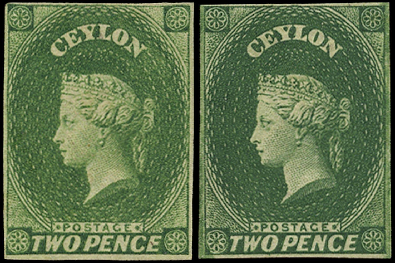 CEYLON 1857  SG3 Mint