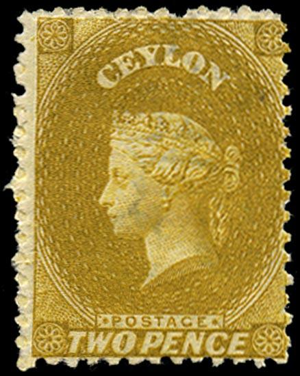 CEYLON 1867  SG64 Mint