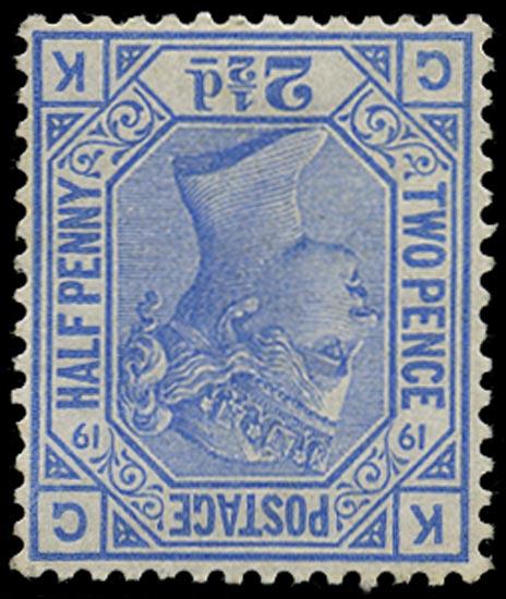 GB 1880  SG142wi Pl.1 Mint