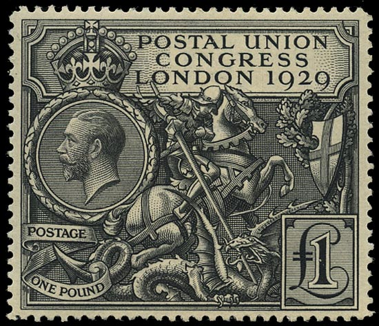 GB 1929  SG438 Mint unmounted o.g. example