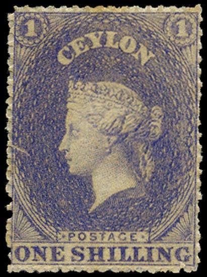 CEYLON 1861  SG26 Mint