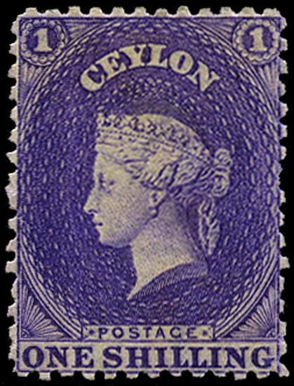 CEYLON 1867  SG71b Mint
