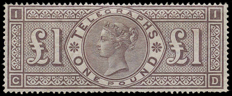 GB 1877  SGT17 Pl.1 Telegraph