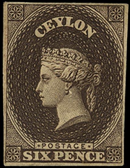 CEYLON 1863  SG55 Proof