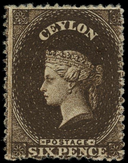 CEYLON 1862  SG41a Mint