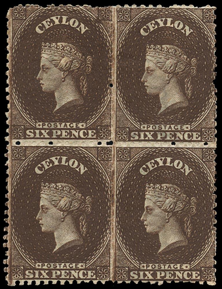 CEYLON 1867  SG67 Mint