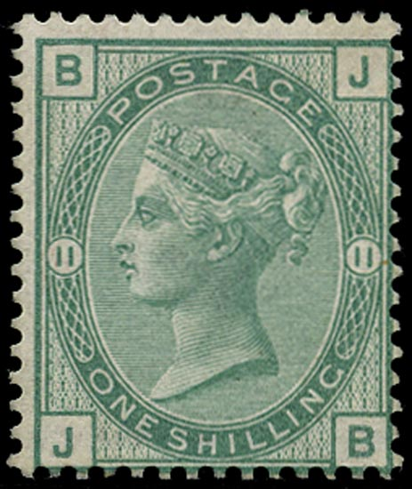 GB 1875  SG150 Pl.11 Mint unmounted o.g. example