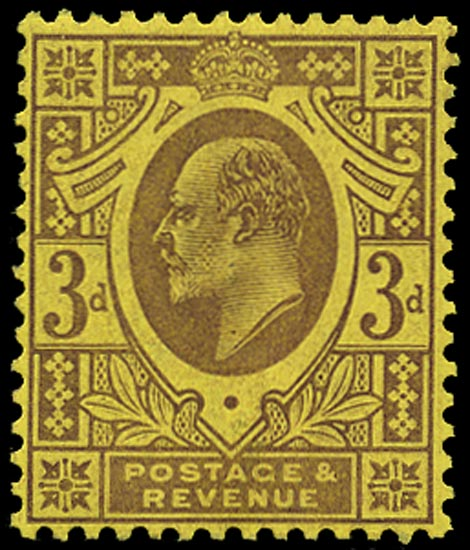 GB 1906  SG232c Mint unused o.g. example
