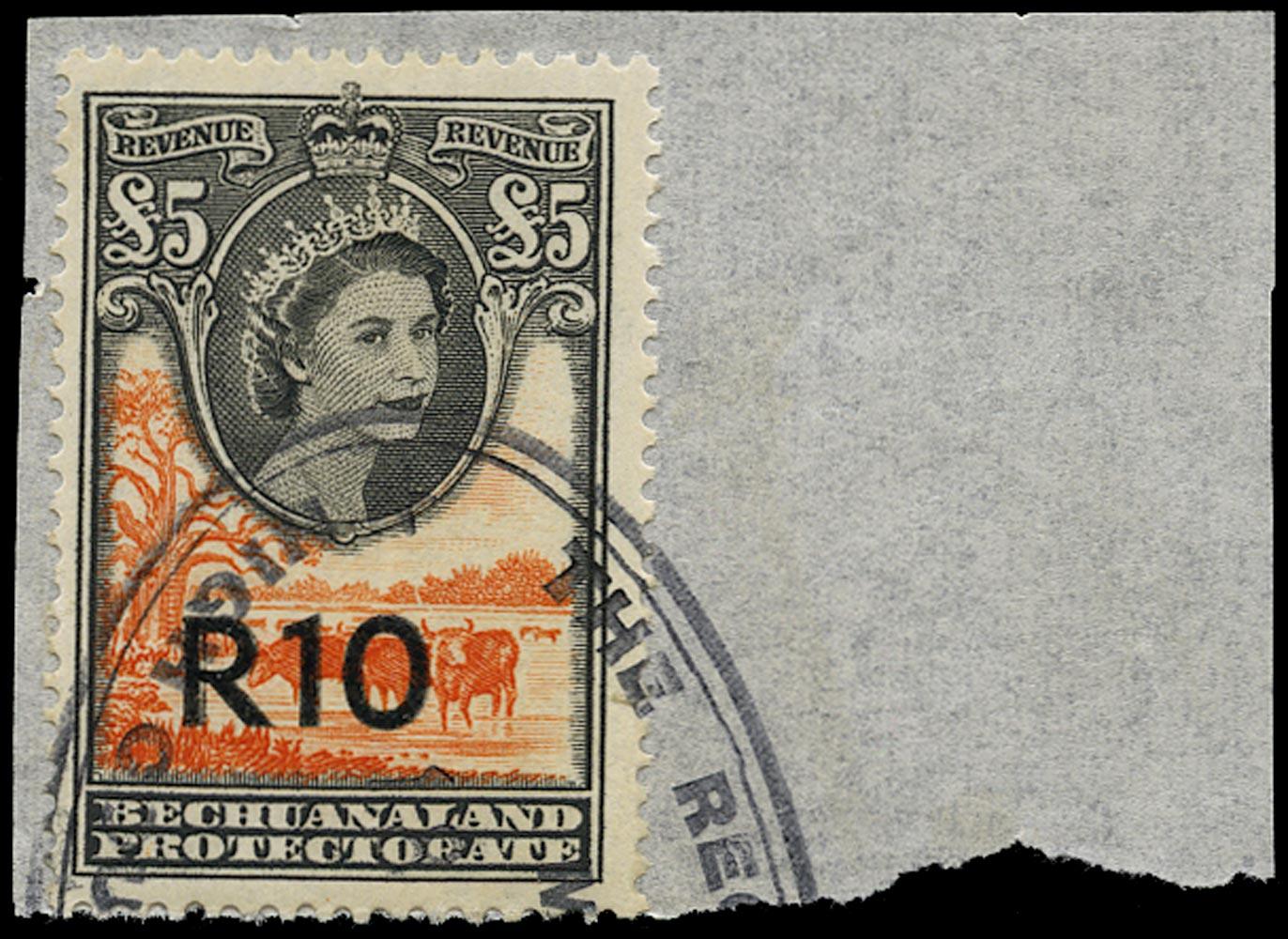 BECHUANALAND 1961 Revenue