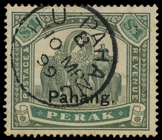 MALAYA - PAHANG 1943  SG23 Used