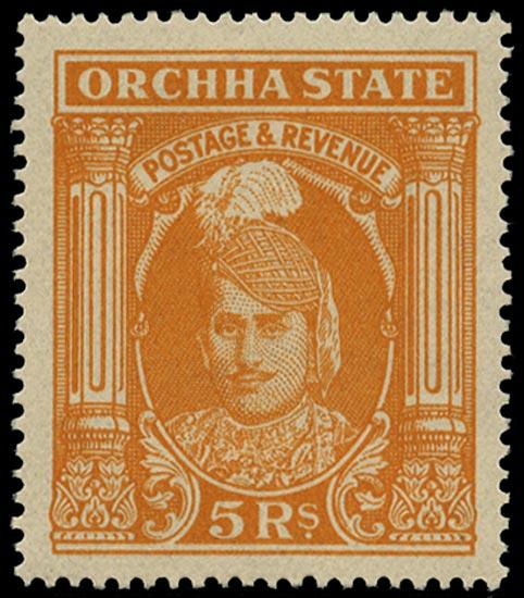 I.F.S. ORCHHA 1939  SG44 Mint