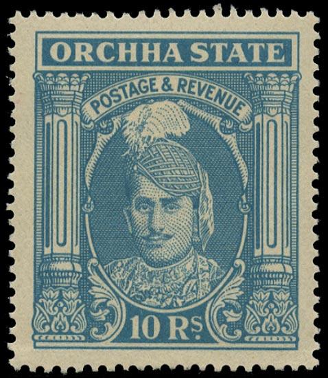 I.F.S. ORCHHA 1939  SG45 Mint