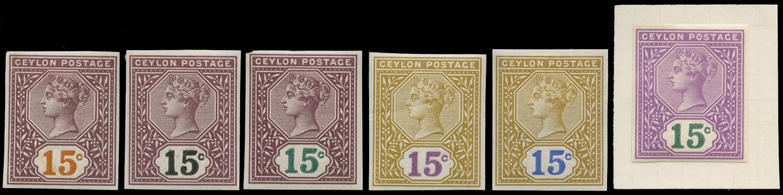 CEYLON 1899  SG261 Proof