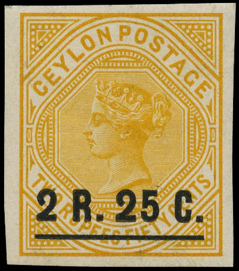 CEYLON 1899  SG255 Proof