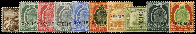 MALTA 1904  SG45as/63s Specimen
