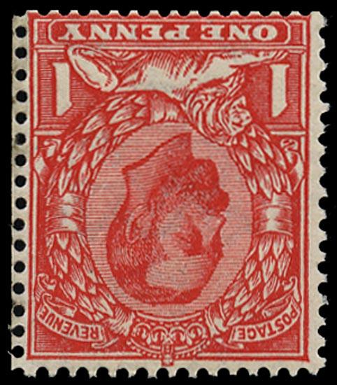 GB 1912  SG336wi Mint wmk inverted U/M o.g. example