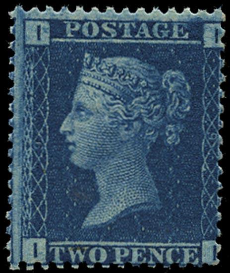 GB 1859  SG45 Pl.9 Mint - unmounted o.g. (II)