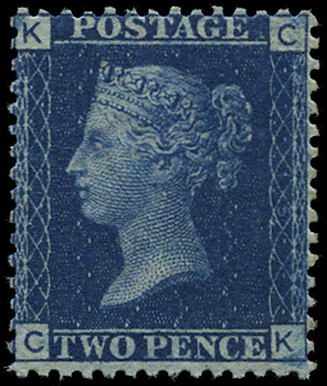 GB 1876  SG46 Pl.15 Mint - unused o.g. (CK)