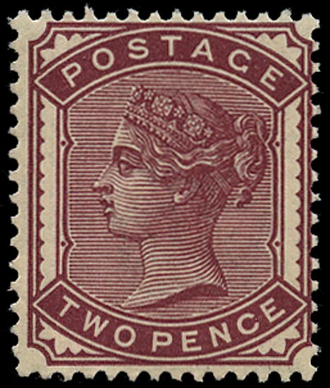 GB 1880  SG168a Mint - unmounted o.g. example