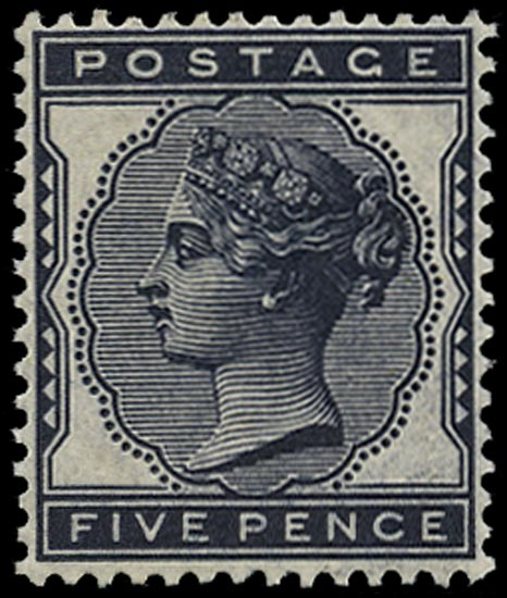 GB 1881  SG169 Mint - unmounted o.g. example