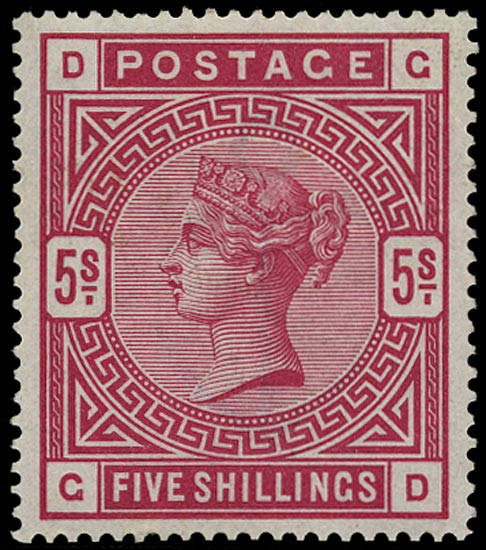 GB 1883  SG180 Mint - unmounted o.g. example