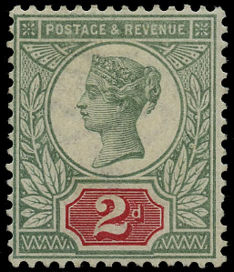 GB 1887  SG200wi Mint - unmounted o.g. example (Wmk Inv)