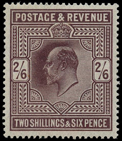 GB 1911  SG317 Mint - U/M o.g. example