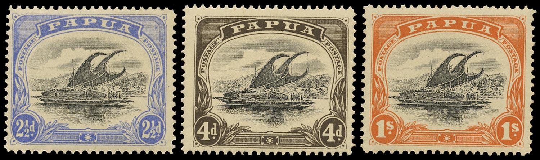 PAPUA 1907  SG56/8 Mint