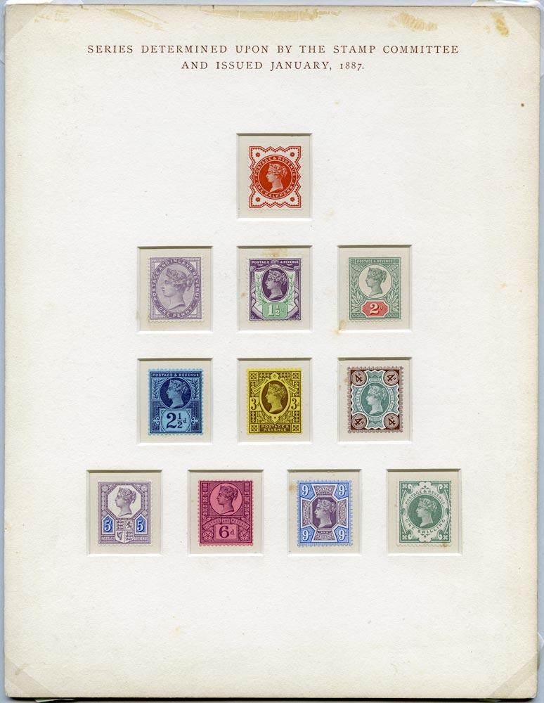 GB 1887  SG197/211 Mint -