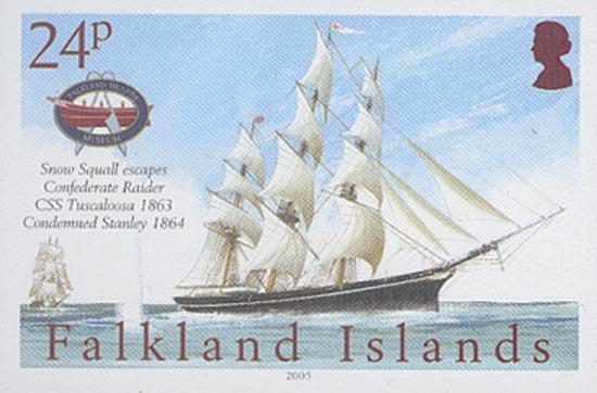 FALKLAND ISLANDS 2005  SG1021/4 unmounted