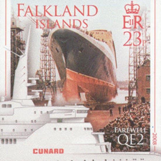 FALKLAND ISLANDS 2008  SG1116/19 unmounted