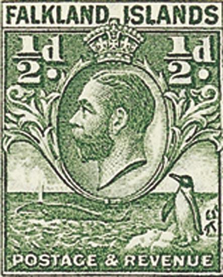 FALKLAND ISLANDS 1936  SG116a unmounted