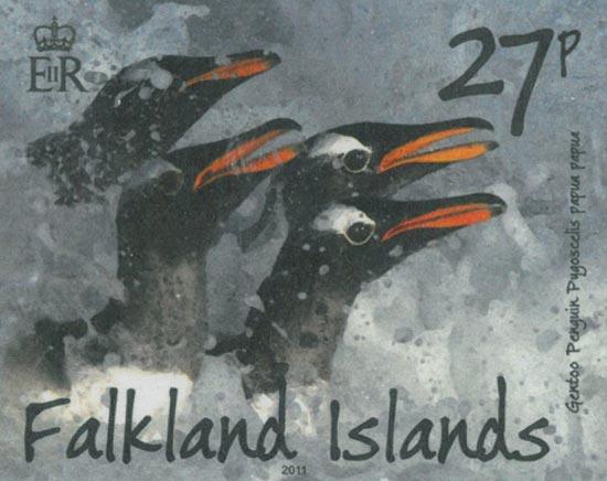 FALKLAND ISLANDS 2011  SG1203/6 unmounted