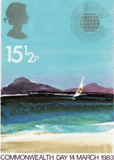 GB 1983  SG1211/14 unmounted mint