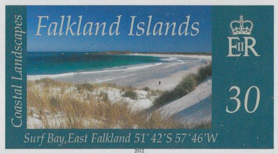 FALKLAND ISLANDS 2012  SG1222/5 unmounted