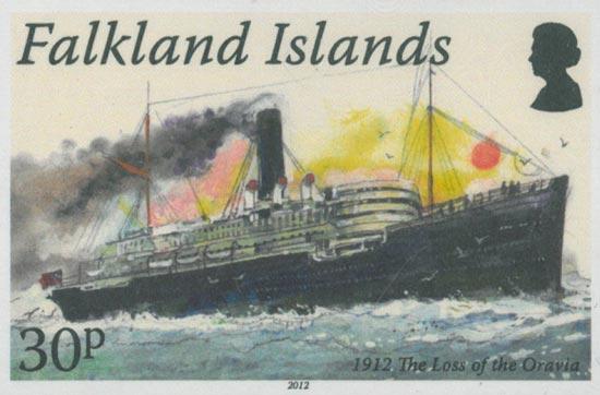FALKLAND ISLANDS 2012  SG1226/9 unmounted