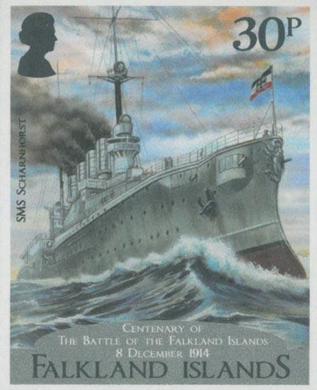 FALKLAND ISLANDS 2014  SG1300/3 unmounted