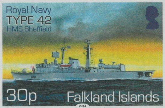 FALKLAND ISLANDS 2014  SG1304/7 unmounted