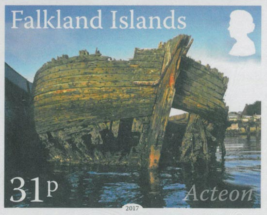 FALKLAND ISLANDS 2017  SG1360/3 unmounted