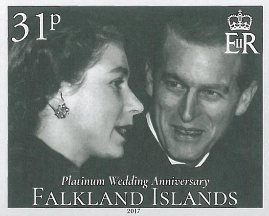 FALKLAND ISLANDS 2017  SG1385/8 unmounted