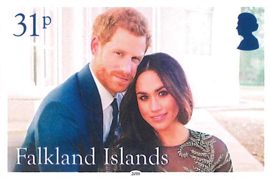 FALKLAND ISLANDS 2018  SG1405/8 unmounted