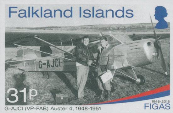 FALKLAND ISLANDS 2018  SG1418/21 unmounted