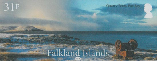 FALKLAND ISLANDS 2018  SG1422/5 unmounted