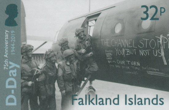 FALKLAND ISLANDS 2019  SG1430/3 unmounted