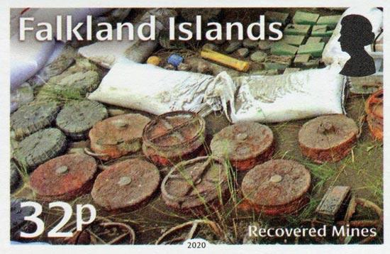 FALKLAND ISLANDS 2020  SG1465/8 unmounted