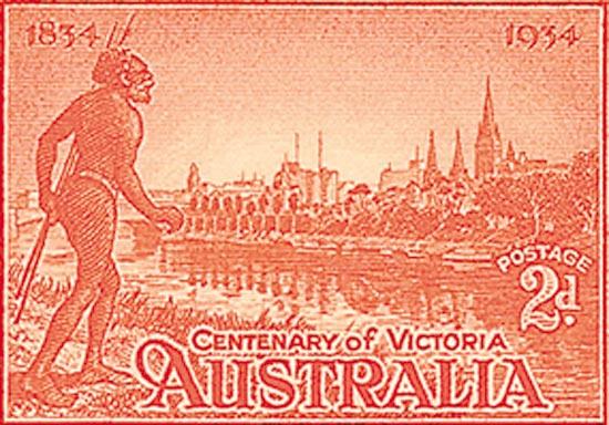 AUSTRALIA 1934  SG147a unmounted