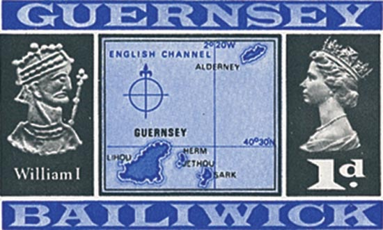 Guernsey 1969  SG14 unmounted mint