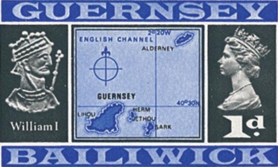 Guernsey 1969  SG14b unmounted mint