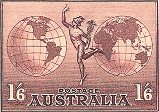 AUSTRALIA   SG153a Mint