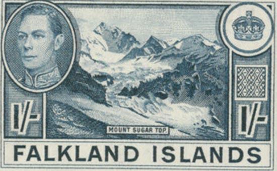FALKLAND ISLANDS 1938  SG158b unmounted